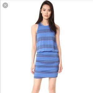 🆕 Sundry Blue Striped Tank Dress Size Medium